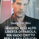 Daniele dal moro intervista  magazine