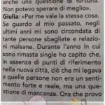Giulia D'Urso e Giulio Raselli risposta