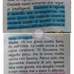 Giulia D'Urso e Giulio Raselli risposta 2