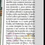 Giulia e Andrea articolo chi