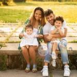 Marco e Romina famiglia
