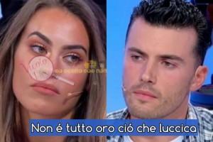 Veronica Burchielli e Alessandro zarino trste