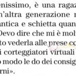 gemma galgani risposta su Giovanna abate
