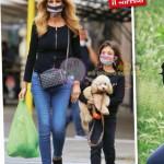 Adriana volpe e figlia