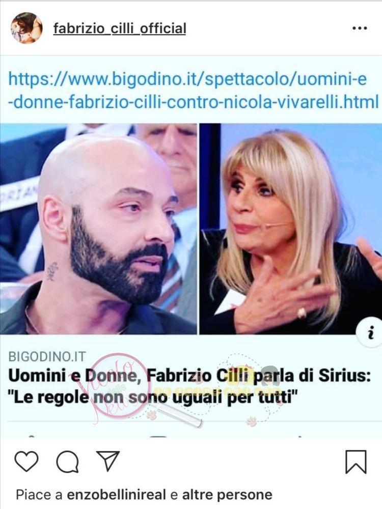 Fabrizio Cilli uomini e donne 1