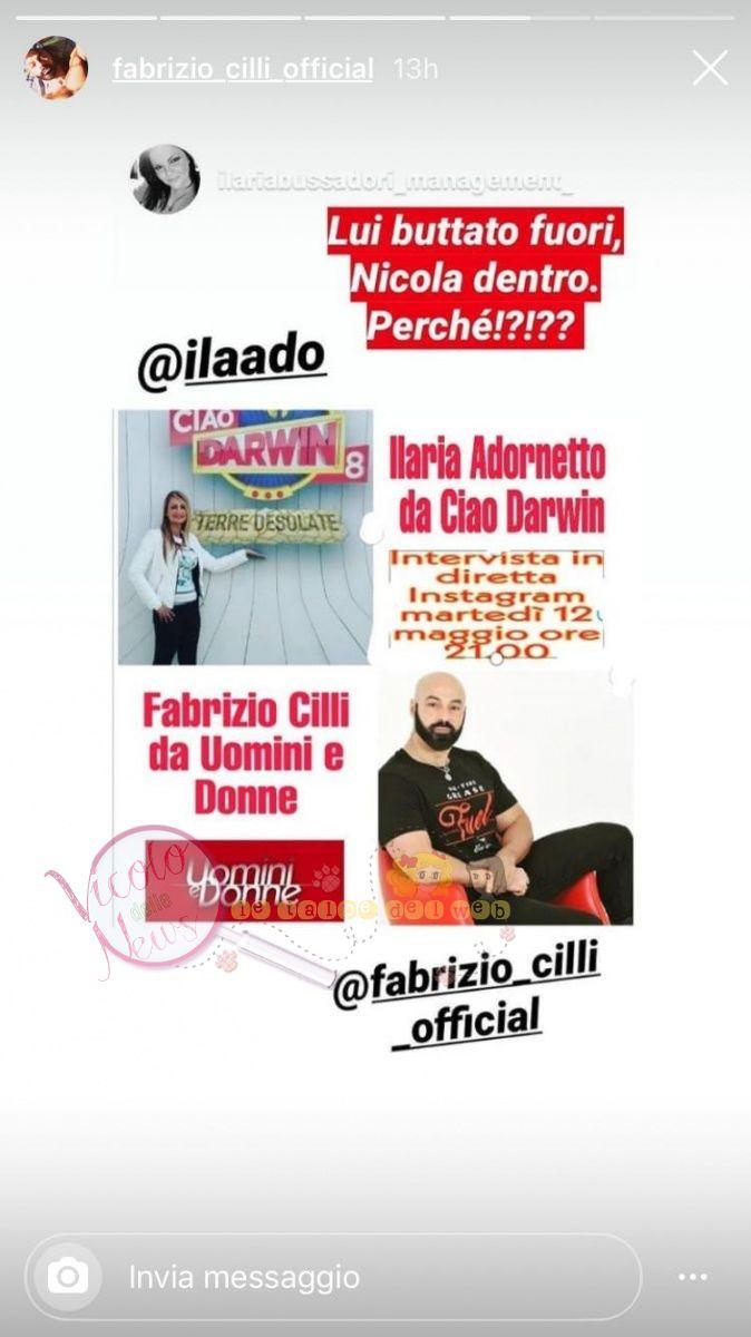 Fabrizio Cilli uomini e donne 4