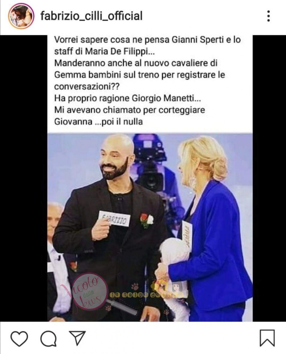 Fabrizio Cilli uomini e donne