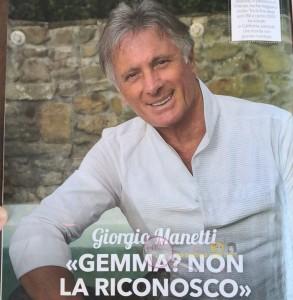 Giorgio Manetti intervista
