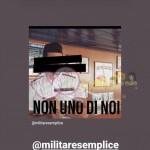 La Marina  messaggi contro Nicola Vivarelli 12