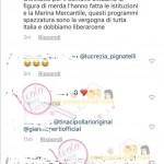 La Marina  messaggi contro Nicola Vivarelli 6