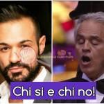 Leonardo Greco e Andrea Bocelli