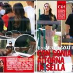 Sonia Lorenzini e eros Ramazzotti insieme