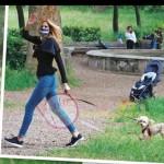 adriana volpe e cane