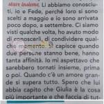 clarissa marchese risposta damellis