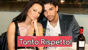 Francesca tocca e Raimondo Todaro
