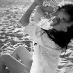 Giovanna Abate al mare