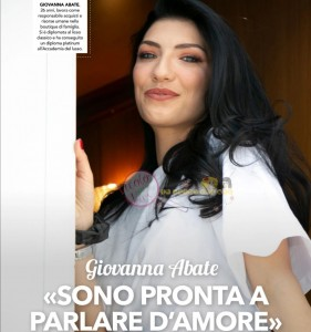 Giovanna abate intervista uomini e donne