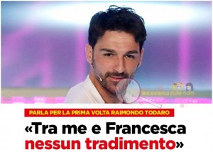 Raimondo Todaro intervista