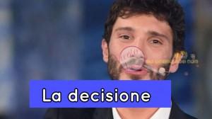 Stefano de Martino la decisione