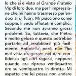 Ursula risposta su Antonella Elia
