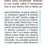 spazio risposta su Antonella elia