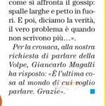 Adriana Volpe risposta gossip