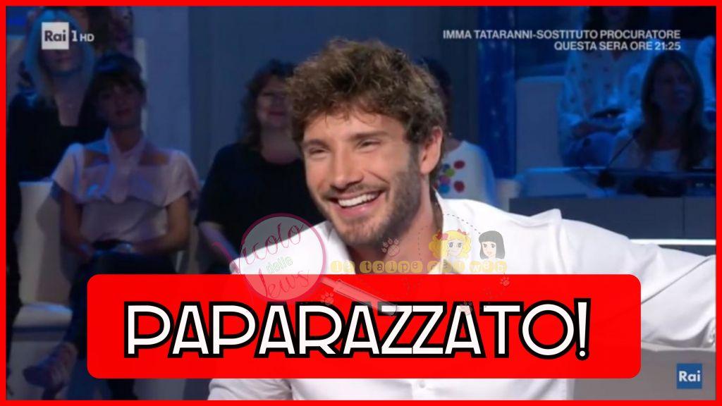 Stefano De Martino paparazzato