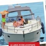 clizia e Paolo in barca 1