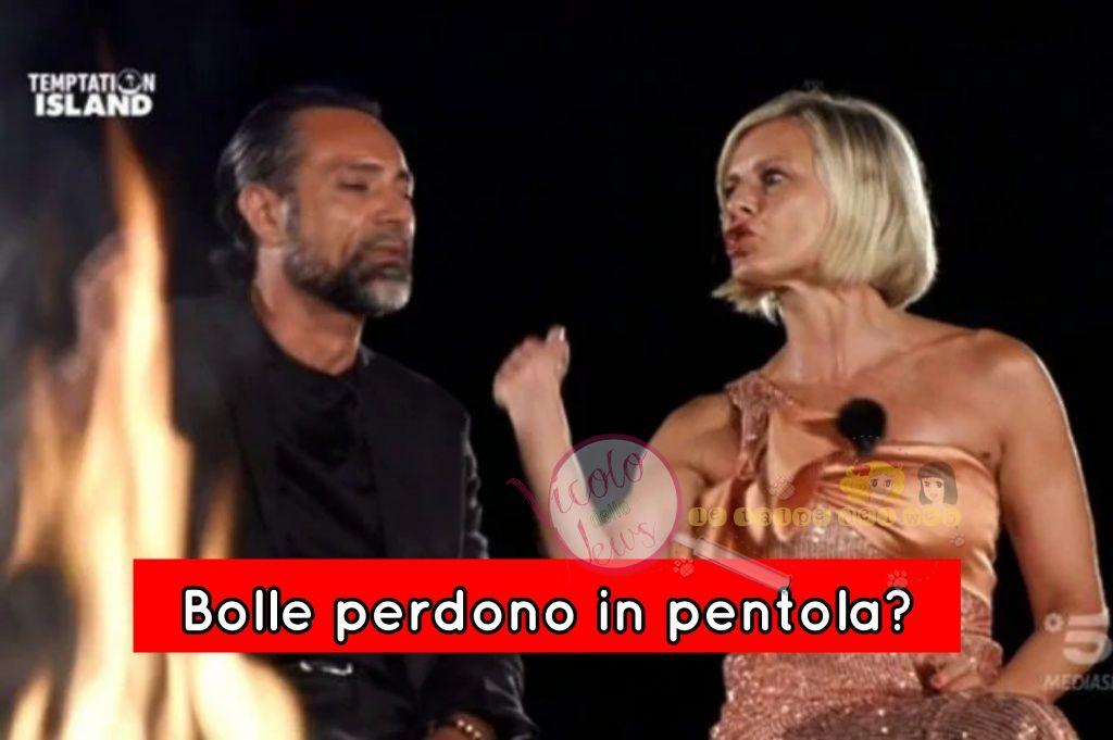 Antonella Elia e Pietro delle piane Temptation Island