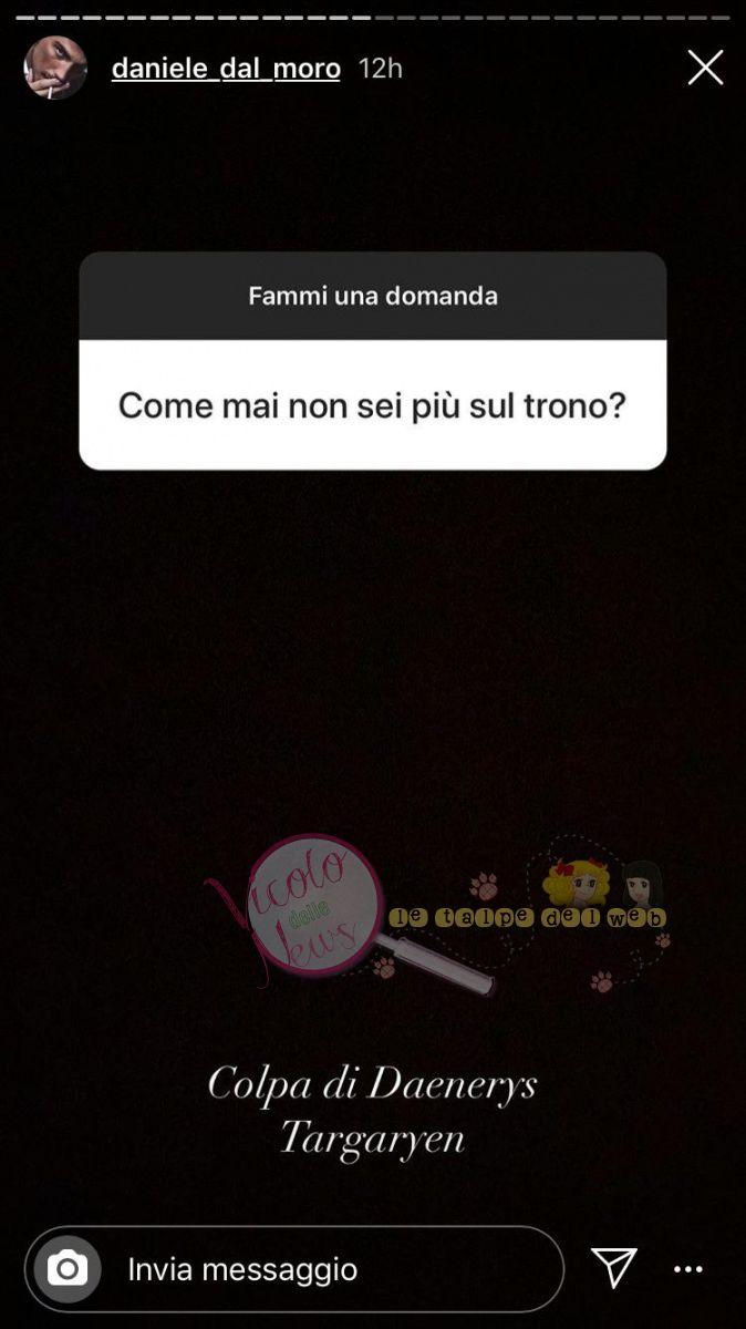 Daniele Dal Moro Risposta 3