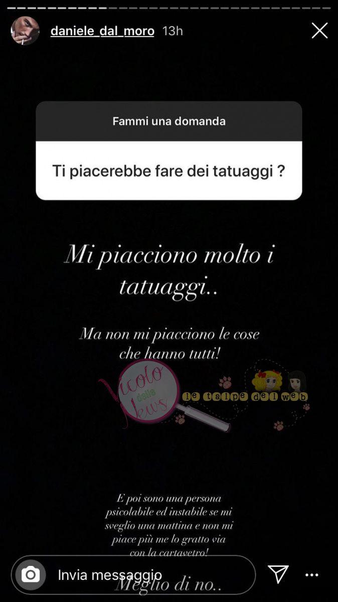 Daniele Dal Moro Risposta