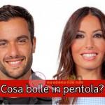 Elisabetta Gregoraci e PierPaolo Pretelli gfvip