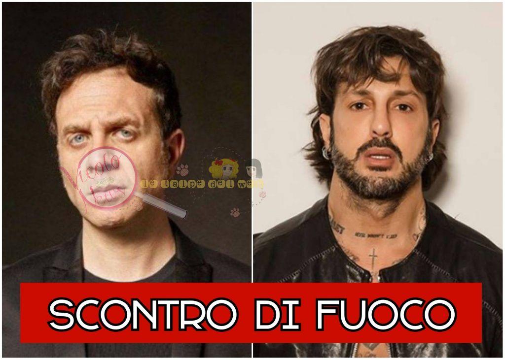 Gabriele parapiglia e Fabrizio Corona