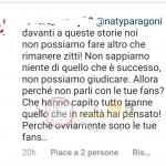 commenti contro Natalia Paragoni 3