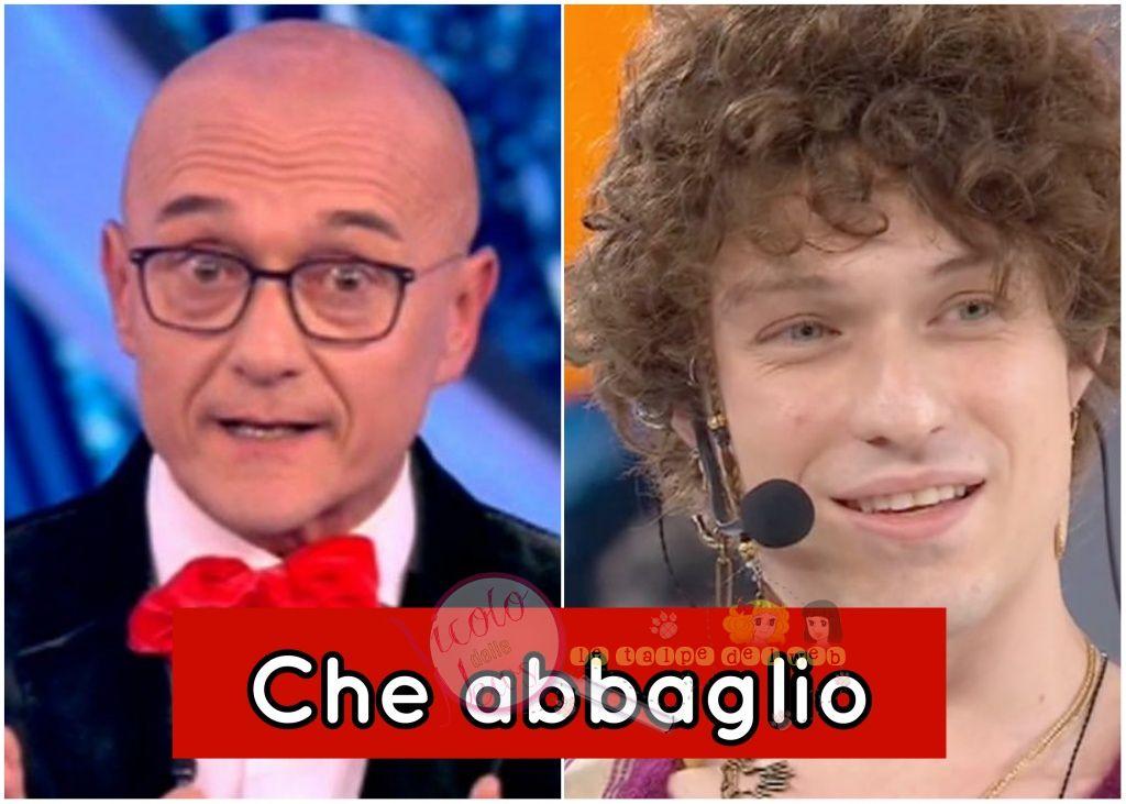 irama e Alfonso Signorini