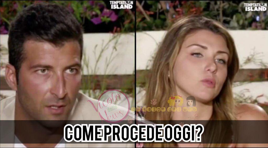 Anna Ascione e Gennaro Mauro Temptation Island