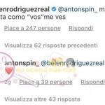 Belen Rodriguez risposta