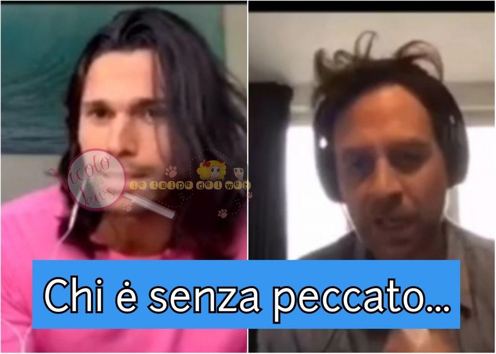 luca onestini vs Gabriele parpiglia